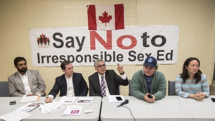say no to sexual education
